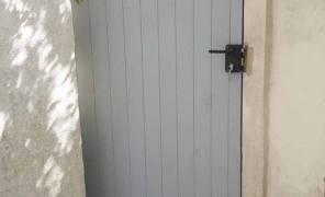Portails extérieure bois
